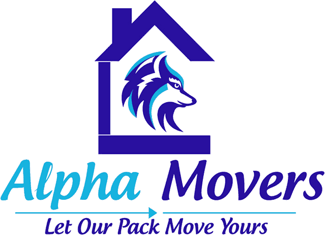 This is the Alpha Movers logo.