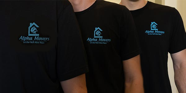 Alpha Movers shirts